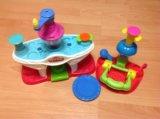 Play-doh фабрика мороженого+кексы набор пластилина. Фото 1.
