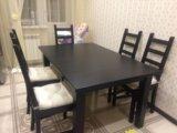 Стол и стулья. Фото 2.