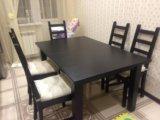 Стол и стулья. Фото 4.