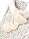 Рукавицы из овчины фриз. Фото 1.