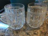 Рюмка хрустальная , чашка хрустальная. Фото 3.