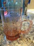 Чашка стекло. Фото 1.