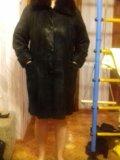 Пальто из натуральной замши. Фото 4.