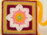Новая вязанная сумочка. Фото 1.