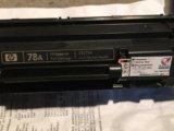 Продам заправленный катридж hp laserjet ce278a. Фото 1.