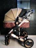 Новая коляска 2 в 1 wisesonle. Фото 2.