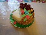 Домашние торты с мастикой на заказ. Фото 2.