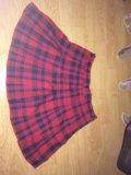 Клетчатая юбка. Фото 1.