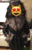 Дубленка/кожаное пальто. Фото 2.