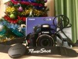 Canon powershop sx510 hd + карта памяти 16 gb. Фото 1.