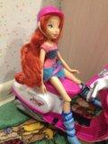 Кукла winx на скутере. Фото 1.