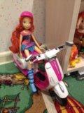 Кукла winx на скутере. Фото 2.