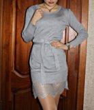 Платье с кружевом. Фото 1.