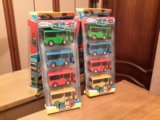 Новый комплект автобусов, инерционные. Фото 1.