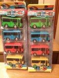 Новый комплект автобусов, инерционные. Фото 2.