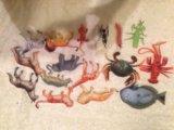 Сафари фигурки животных, тележка доктора. Фото 2.