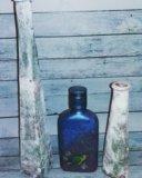 Декорирование бутылок. Фото 2.