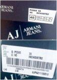 Шлепанцы armani jeans оригинал. Фото 4.