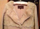 Пальто шерсть с кроликом. Фото 1.