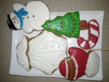 Имбирные пряники и печенье. Фото 1.