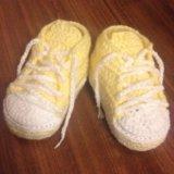Кеды носки пинетки. Фото 1.