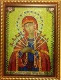 Икона божьей матери семистрельная. Фото 3.