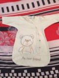 Пеленка на липучке + спальный мешок. Фото 2.