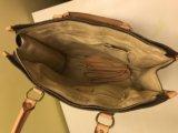 Сумка а-ля луи вьютон; кожзам. Фото 1.
