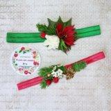 Новогодние повязки для девочек. Фото 1.