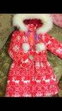 Зимнее пальто-пуховик kiko. Фото 1.