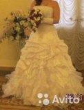 Свадебное платье 48-50 р-ра. Фото 4.