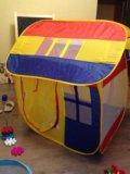 Палатка детская новая. Фото 4.