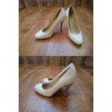 Белые туфли. можно под свадебное платье. Фото 1.