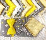 Бортики в кроватку для деток. Фото 4.