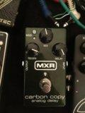 Mxr carbon copy analog delay. Фото 1.