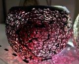 Стеклянные подсвечники мозаика. Фото 4.