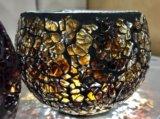 Стеклянные подсвечники мозаика. Фото 3.