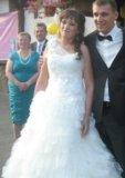 Свадебное платье плюс туфли в подарок. Фото 2.