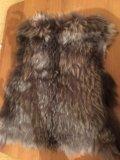 Меховая жилетка песец. Фото 2.