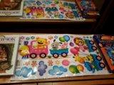 Наклейки на стену в детской комнате. Фото 1.