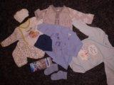 Пакет для малыша. кофта. боди. Фото 1.