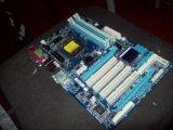 Продаю комплект gigabyte ga-p55-ud3l+intel core i7. Фото 1.