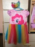 Платье пони на 2 годика. Фото 1.