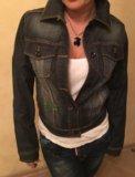 Куртка джинсовая ed hardy. Фото 2.
