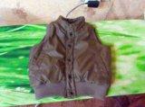 Тёплый жилет (куртка без рукавов). Фото 2.