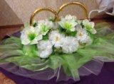 Украшения на свадебную машину. Фото 2.