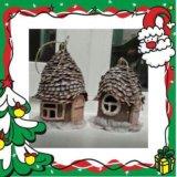 Новогодние домики. Фото 1.
