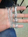 Серебрянная цепочка. Фото 1.