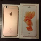 Iphone 6s 64 gb rosegold. Фото 1.