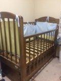 Детская кровать с маятником. Фото 2.
